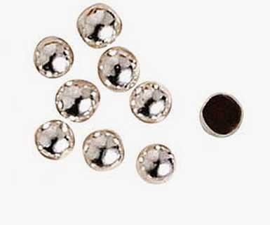 Scintillants - Perle argentée intérieur chocolat