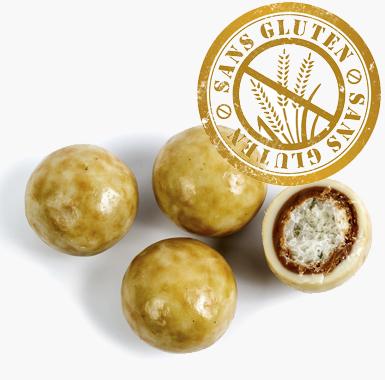 Spécialites chocolat croustillants - Croustillant au Chocolat à la crème de nougat