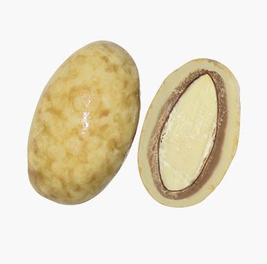 Spécialites chocolat amandes - Coeur d'Amande chocolat à la crème de nougat