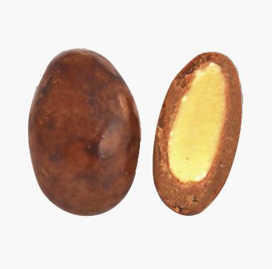 Spécialites chocolat amandes - Coeur d'Amande au chocolat caramel au beurre salé