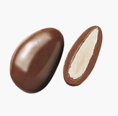 Spécialites chocolat amandes - Coeur d'Amande au chocolat au lait