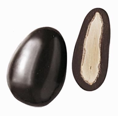 Spécialites chocolat amandes - Coeur d'Amande au chocolat noir