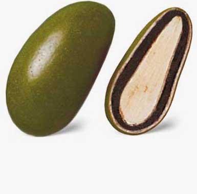 Spécialites chocolat amandes - Olive dragéifiée