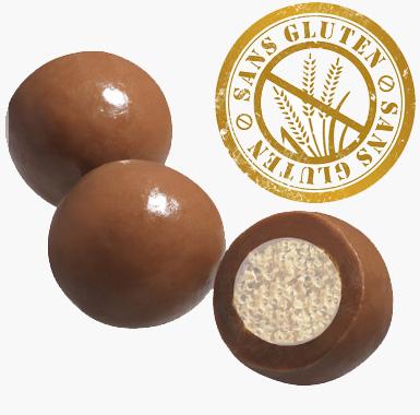 Spécialites chocolat gourmandises - Croustillant au Chocolat au Lait