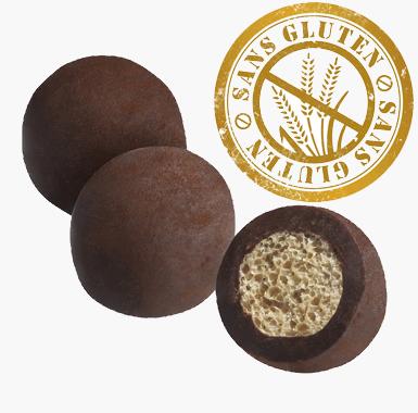 Spécialites chocolat croustillants - Croustillant au Gianduja Poudré Cacao