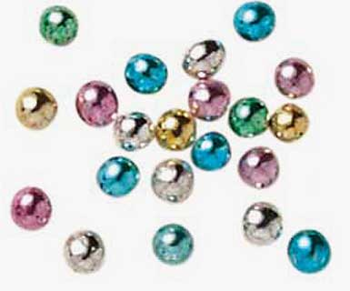 Scintillants - Perle multicolore n°4