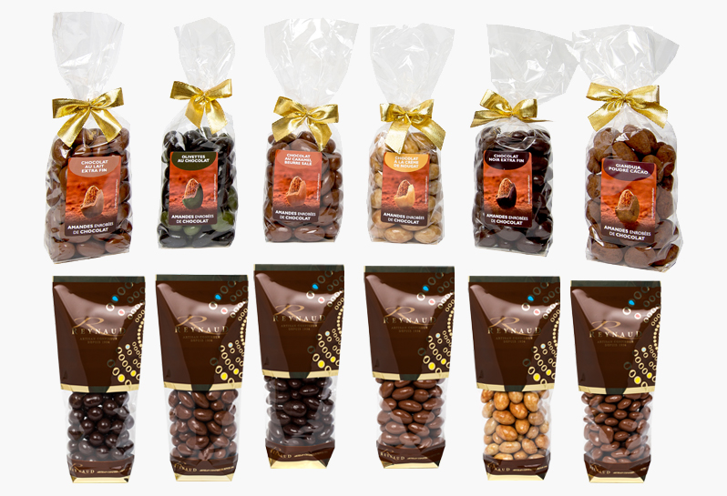 Packaging and Duty Free - A new range of packagings dedicated to chocolate specialties