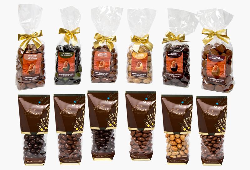 Emballages et Duty Free - Une nouvelle gamme de sachets dédiés aux spécialités chocolat